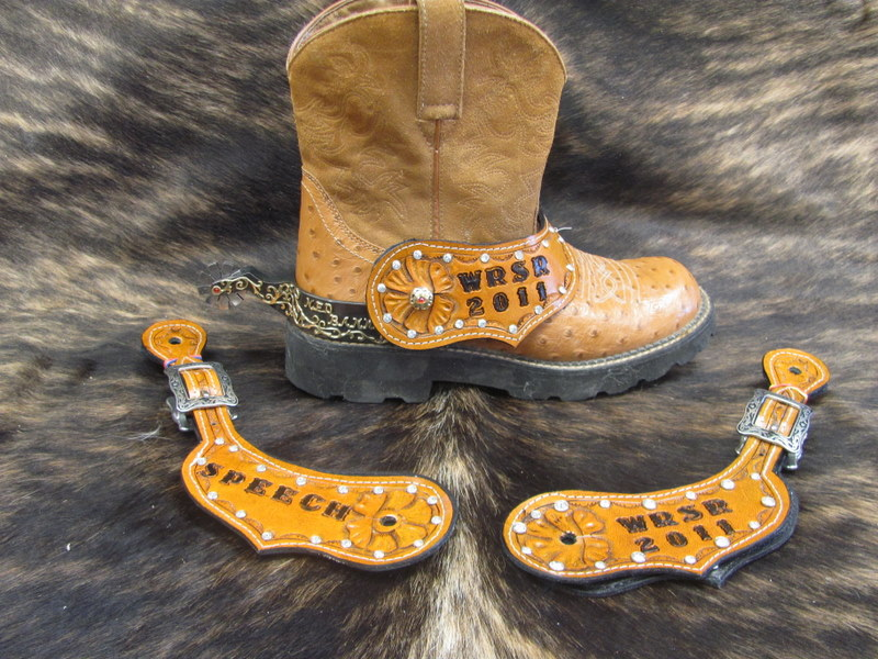 Custom Tooled Royalty Awards Trophies Rodeo Queen Awards